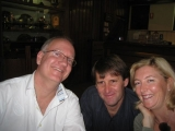 Russell, Alan Downes and Tina