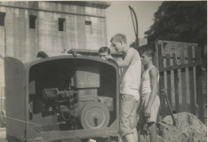 First load cement Aug 60