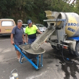 VC Graham takes the first load